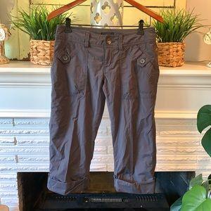 Marmot Gray Ginny Hiking Pants Convertible Size 4
